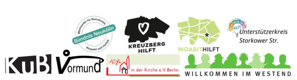 Logos der beteiligten Initiativen