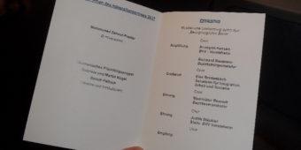 Einladung zum Integrationspreis